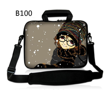 "Fairy Girl 10"" Laptop Shoulder Bag Sleeve Case Cover For 10.1"" Acer Aspire One Notebook New/10.1"" Dell Mini 9 10/HP Mini 110(China)"