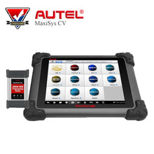 2017 Newest Original AUTEL MaxiSys CV HD Scanner Free Online Update Full System ECU Coding Diagnostic Tool for Heavy Duty(China)