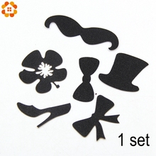 5Set/Lot Ladies and Gentlemen DIY Cakes Topper Picks Cupcake Toppers For Wedding Bachelorette Party&Cake Baking Party Decration(China)