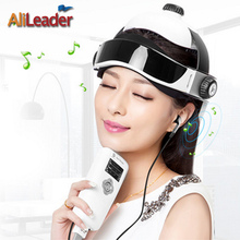 Wireless Or US EU Plug Head Massage Device Electric Head Massage Instrument Scalp Massage Can Adjustable Size Helmet For Healthy
