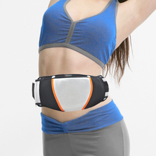 Electric Exercise Heat Loss Weight Vibrating Shape Slimming Massage Belt Fitness EU Plug(China)