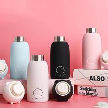 300ml Pig Shape Stainless Steel Vacuum Flasks Thermos Cups Travel Mug Thermal Insulation Bottle For Coffee Tea Milk(China)