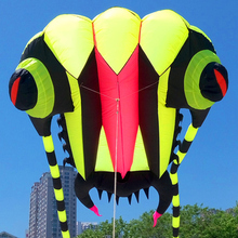 free shipping high quality 7square meters trilobites soft kite line ripstop nylon fabric kite flying outdoor toys kite bar bag