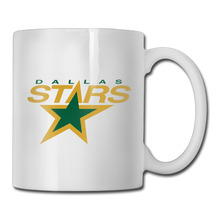 Dallas Ice Hockey Logo coffee mug smart dad tazas ceramic tumbler caneca tea Cups