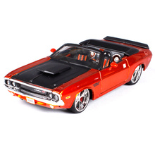 Maisto 1:24 1970 Dodge Challenger R/T Convertible Diecast Model Car Toy New In Box Free Shipping 31026(China)