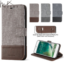 MUXMA Flip Case For Xiomi Redmi 4X 4A 4 Business Style Wallet Case Leather Cover For Xiaomi Redmi Note 4X Card Slots Phone Cases