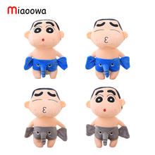 1pc 30cm Cute Crayon Shin Chan Stuffed Plush Toy Kawaii Elephant Doll Naughty Anime Figure Toy for Kids Gift