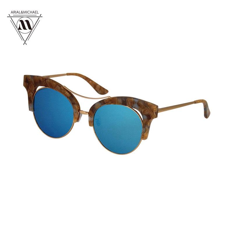 Arial&amp;Michael New Retro Cat Eye Sunglasses Men/Women Fashion Multi-colors Vintage Eyeglasses Oculos de sol feminino Sunglasses<br><br>Aliexpress