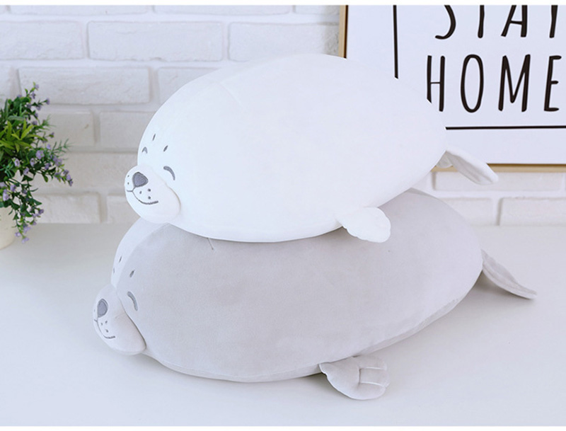 1pcs Cute Soft Animal Sea Lion Doll Baby Sleeping Pillow Marine Animals Seal Plush Toy Kids Stuffed Toys Gift (20)