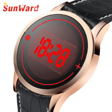Relogio masculino Men's Fashion LED Digital Touch Screen Day Date Silicone Wrist Watch Mme montre 17May12(China)
