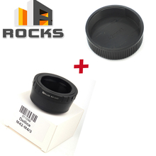 Buy Lens Adapter Suit M42 Mount Lens Suit Micro Four Thirds 4/3 Camera+M42 42mm Screw Lens Rear back Cover Cap for $12.21 in AliExpress store