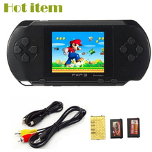 NEW 16 BIT PXP3 SLIM STATION VIDEO GAME CONSOLE DE JEU PORTABLE HANDHELD GAME PLAYER WITH AV CABLE GAME CARD FOR BOY SPELCONSOLE