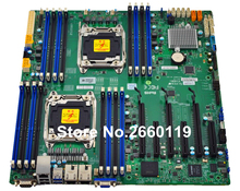 Server motherboard for SuperMicro X10DRI LGA2011 C612 system mainboard fully tested