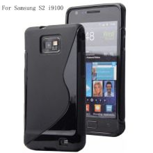 S-Line Tpu Soft Silicone Mobil Phone Case Cove For Samsung Galaxy S2 i9100