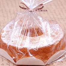 Thickening 8 inch chiffon cake packaging bags Toast bag cupcakes box of 10pcs