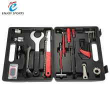 Cycling Bike Portable Repairing Tool Set With BMC Box Lixada MTB Bike Bicycle Repair Tools 16 in 1 Multifunctional Tool Set Kit