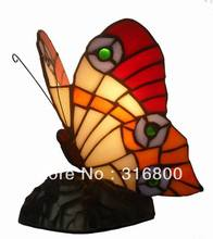 Tiffany European table lamp elegant butterfly princess the Tianyuan Di Giovanni living room study the bedroom desk lighting 007(China)