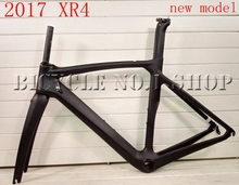 2017 XR4 NEW T1000 black blue green full carbon road bike frame racing bicycle frameset size 50 53 55 57cm taiwan clapotic(China)
