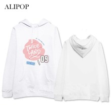 ALIPOP Kpop TWICE TWICELAND Album Thick Hoodie Casual Fleece Hoodies Clothes Pullover Printed Long Sleeve Sweatshirts WY437