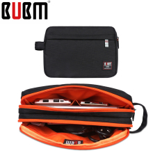 BUBM Luxury Travel Electronics Organizer / Ipad MINI Case / Phone Accessories Carry Bag travel bag digital receiving bag storage