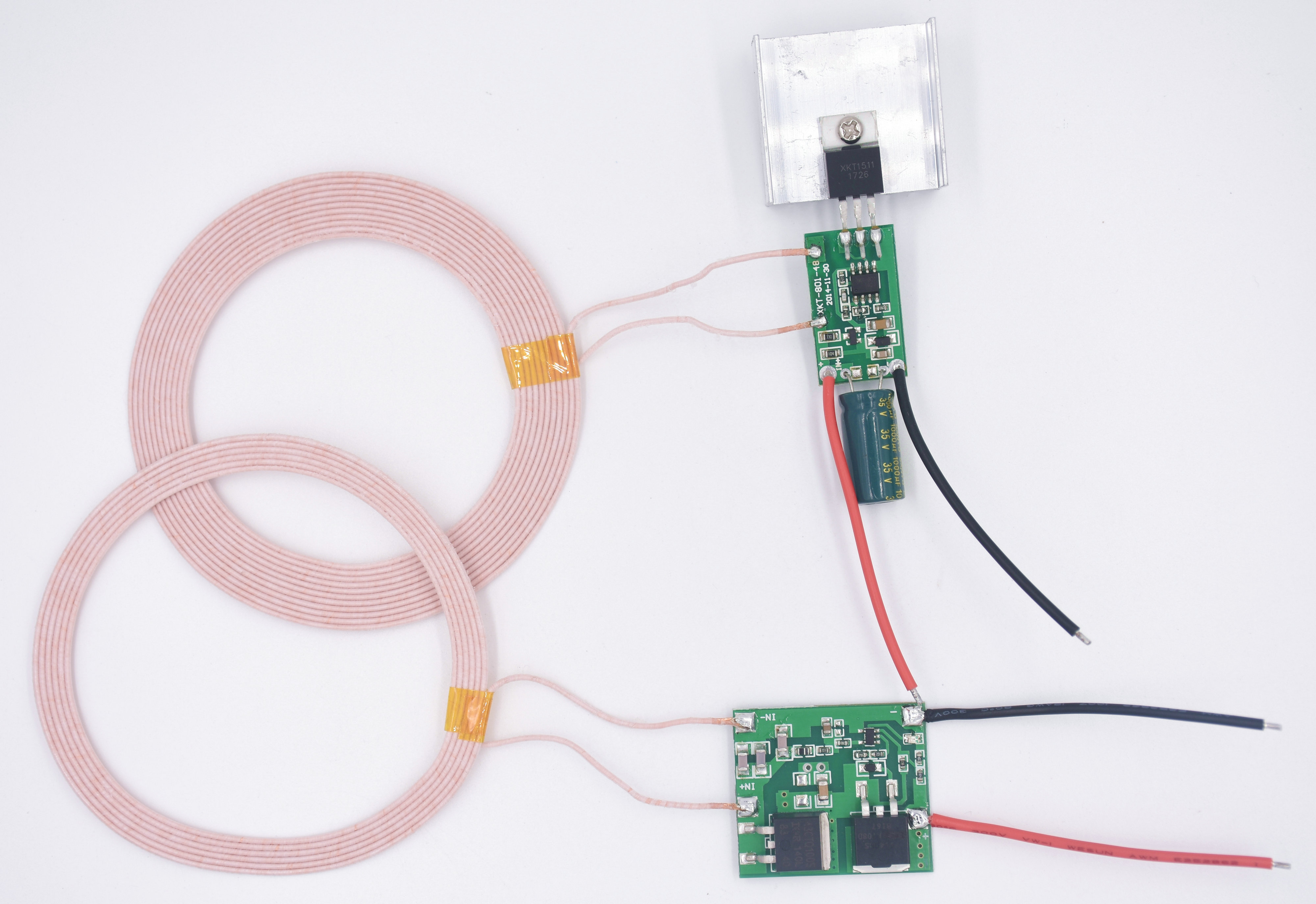 12V 3A Large Current Wireless Charging Module, Wireless Power Supply Module XKT801-29<br>