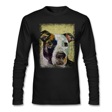 Accessible PIT BULL Full Sleeves Shirts Mens hip-hop cotton O Neck  shopping t shirts online