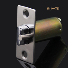 Top Designed 2PCS/lot 50mm/60mm Length Lock Core Tongue Security Door Lock Cylinder Locks Accessories