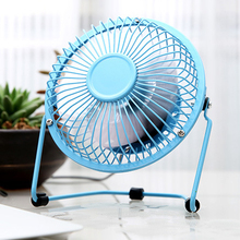 Tuansing Metal Mini Protable PC Laptop USB Fan 360 Degree Rotation Ultra-quiet Summer Home Office Desk Electric Cooling Fan(China)