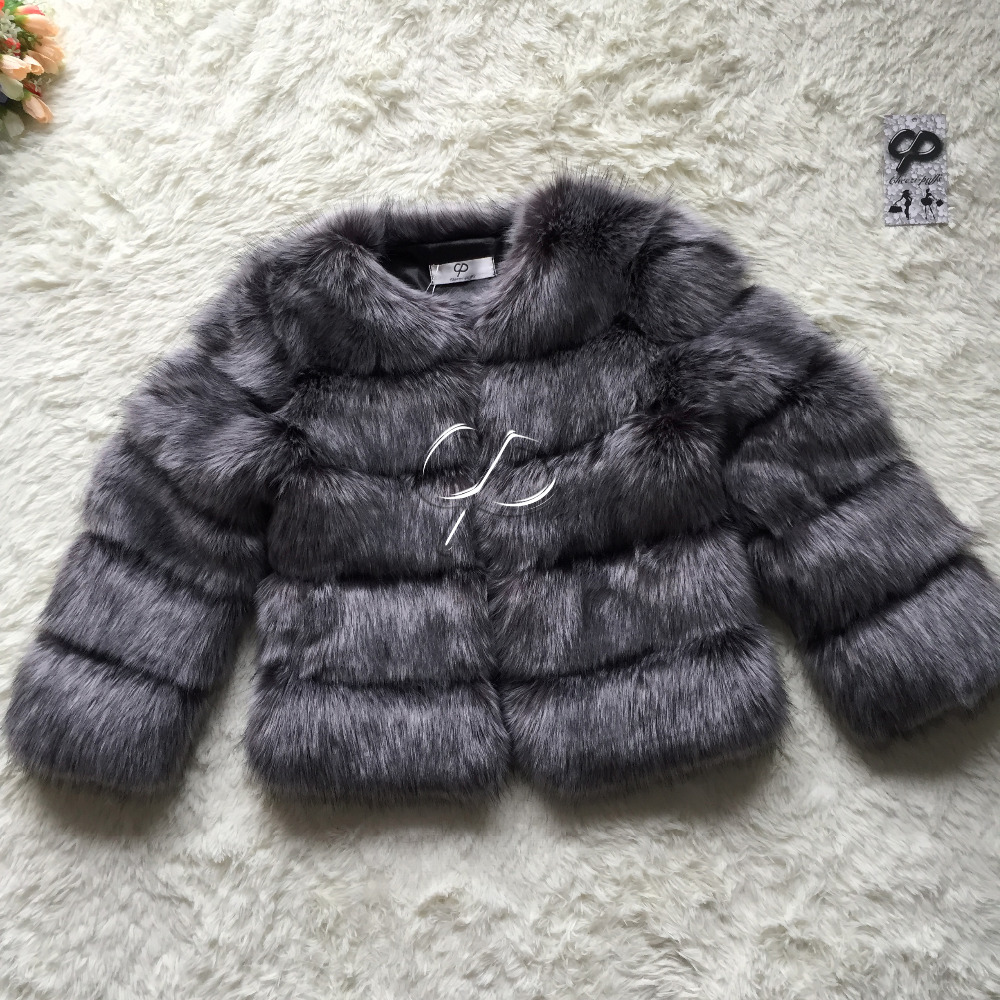 CP Brand Short Fur Coat Winter Fashion Women Faux Fox Fur Coats Furry Cute Woman Fake Fur Jacket Plus Size Fur Coat Jacket(China (Mainland))