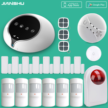 2017 Newest 3G Alarm Systems Security Home Alarm System Work with 64pcs Wireless Sensors Home Security Alarm System with Siren