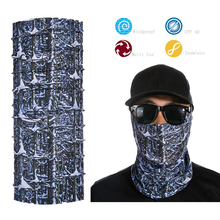 Multifunctional Magic Seamless Neck Tube Skull Face Mask Custom Bandana