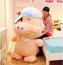 Fancytrade 59'' / 150cm Giant Stuffed Cute Mcdull  Pig Toy, Top Selling Birthday Gift Free Shipping Accept Dropshpping FT50003