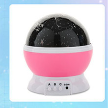 Magic Rotating Night Light Projector Spin Starry Sky Star Master Children Kids Baby Sleep Romantic Led USB Lamp Projection