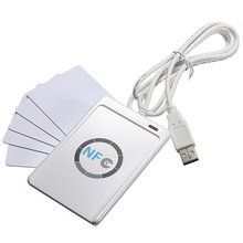 Buy ACR122U-A9 RFID USB NFC Smart Card Reader Writer + 5pcs UID Card + M1 Clone Software for $46.55 in AliExpress store