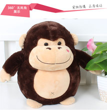 cute monkey doll fat Orangutan soft plush toy throw pillow home decoration birthday gift h2865(China)