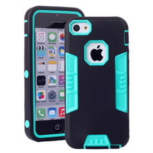 Mobile Phone Cover For iPhone 5S Case Shockproof Hybrid Rubber Cases For iPhone 5S iPhone 5 iPhone SE Case Soft Hard Shell Bag