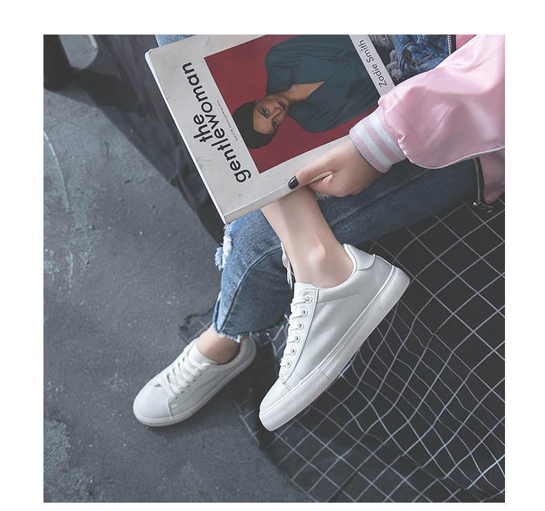 حذاء نساء لون ابيض 9
