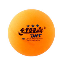 High Quality 1 boxes 6 Pcs 3 stars DHS 40MM Olympic Table Tennis Orange Yellow Ping Pong Balls Durable For Competition(China)
