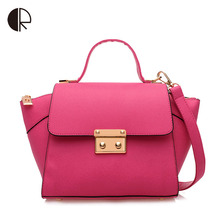 Hot Sale Women Designer Inspire Tote Fashion Trapeze Big Ears Smiley Swing Bag Tricolor Celebrity Messenger bag BS431