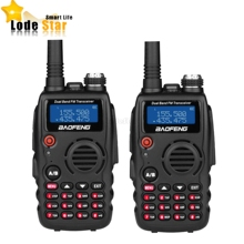 2PCS Original Baofeng A52 Walkie Talkie BF-A52 Dual Band VHF UHF 136-174/ 400-520HZ ham Two Way Radio Cb Ham Radio Transceiver