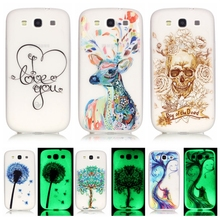 Luminous Case sFor Coque Samsung Galaxy S3 case For Samsung S3 Neo Duos i9300 i9301 Soft TPU Silicone Cell Phone Back Cover