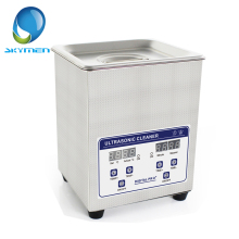 Skymen 2L 40kHz Stainless Steel Ultrasonic Cleaner Bath Digital w/Timed Heater Ultrasound Cleaning Tank(JP-010S)