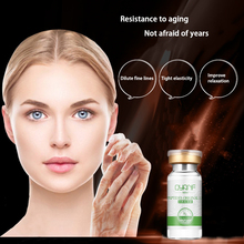 qyanf Six Peptides Serum Collagen Argireline Facial Serum Vitamin C Serum Skin Defender Lighten Dark Spots Skin(China)