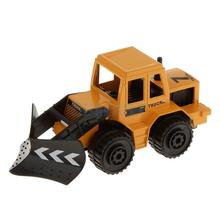 1:64 Diecast Snowplow Snow Removal Truck Model Vehicle Car Toys