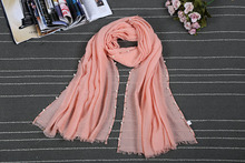 Hot 2017 New Winter Autumn Shawls and Scarves for Women  Scarves Fashion Warm Beading Scarf  SP058