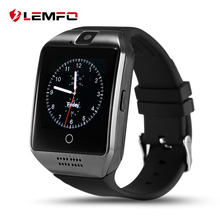 Q18 Smart Watch Phone Support Sim TF Card Bluetooth Connectivity For Android Smartphone