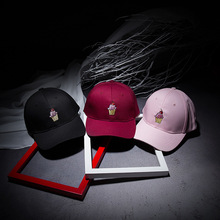Ice Cap Cotton Casual Ice Cream Baseball Hats For Lovers Gifts For Women And Men Black Pink Snapback Caps 2016 Dad Hat