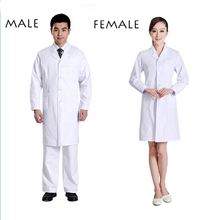 2017 Surgicall Medical Uniforms Hospital Lab Coat Male/Famale Medical Scrub Clothes Uniform Breathable Women Work Wear Blouses(China)