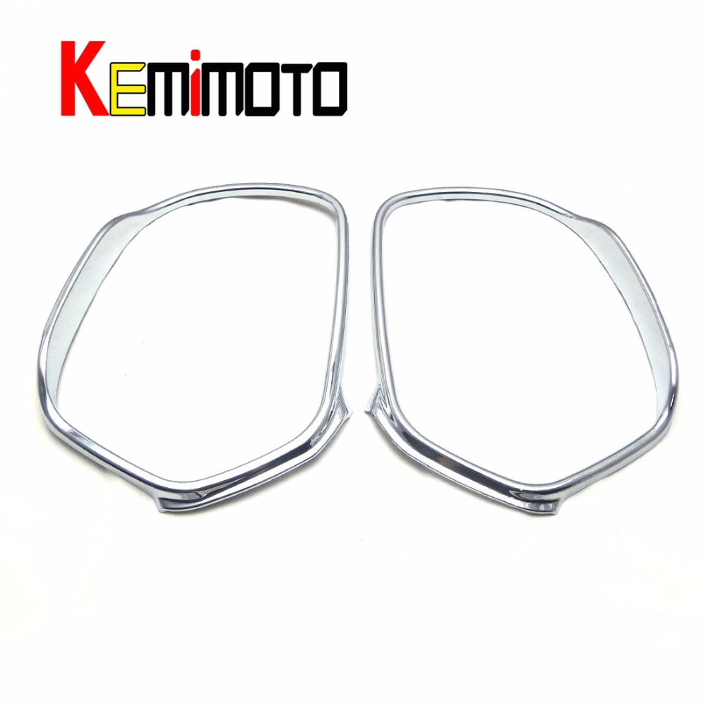 For parts 2014 Mazda 6 Atenza Chrome Door Stereo Speaker Collar Cover Trim Ring 1 Set<br>