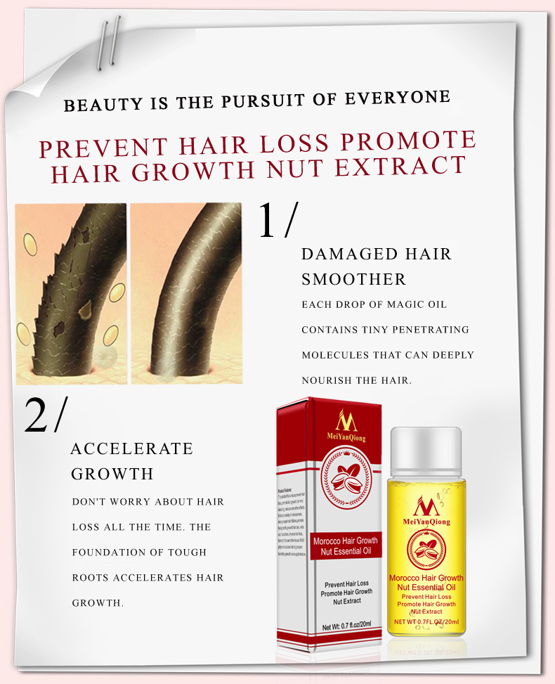 Fast Powerful Hair Growth Essence Hair Loss Products Essential Oil Liquid Treatment Preventing Hair Loss Hair Care Products 20ml 4